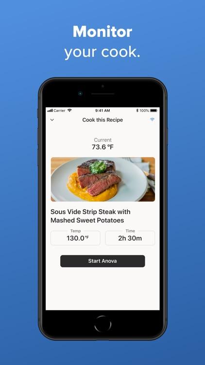 Anova Culinary screenshot-3