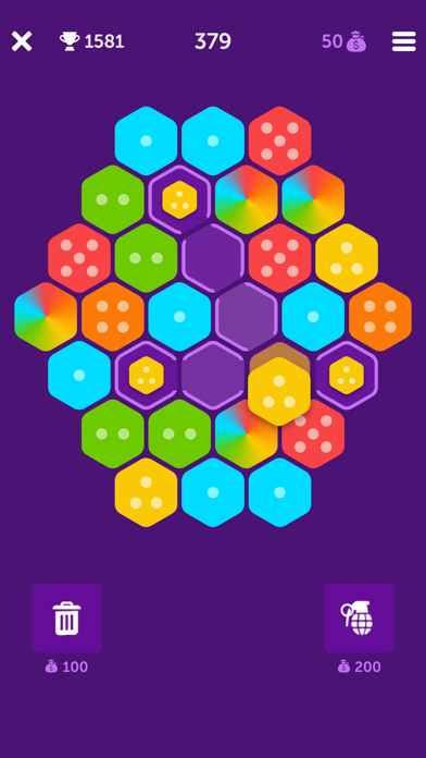 Hexa Bang screenshot #2