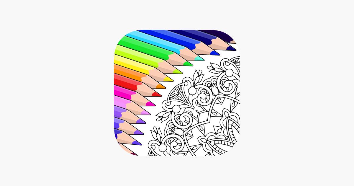 Coloriage Adulte Avec Numero En Ligne.Colorfy Jeux De Coloriage Dans L App Store
