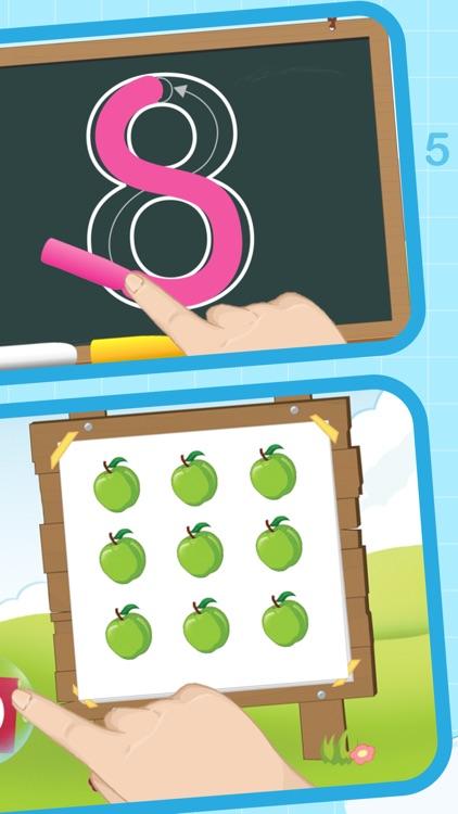 Números para niños en español screenshot-4