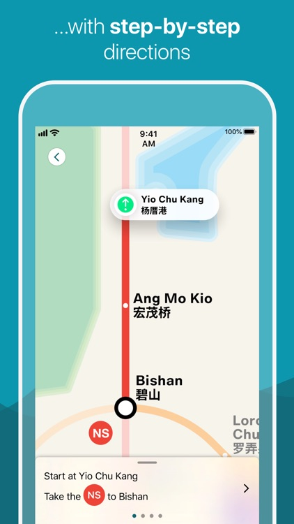 Singapore Metro Map & Planner screenshot-3
