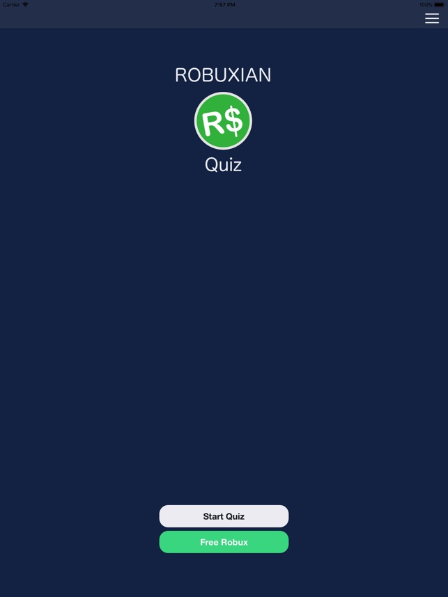 Robux Roblox 1.webnode.com.uy Robuxian Quiz For Robux On The App Store