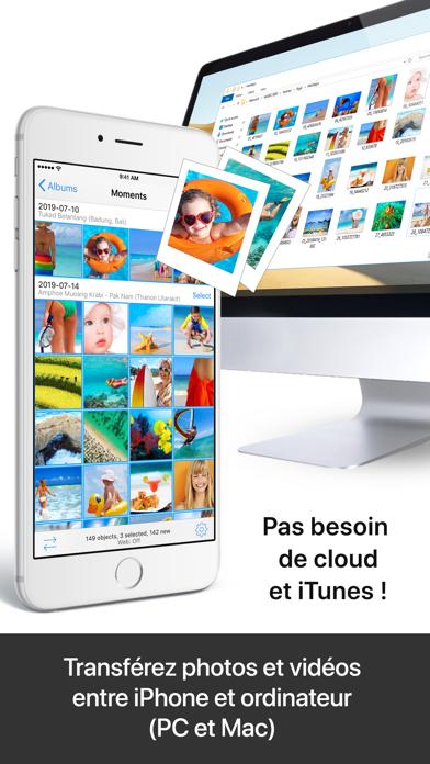 Screenshot #2 pour PhotoSync – transfert photos