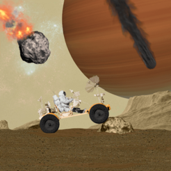 ‎Rover on Mars