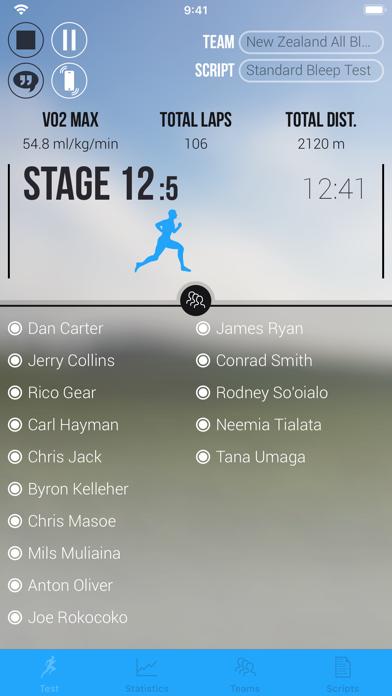 Team Bleep Test review screenshots