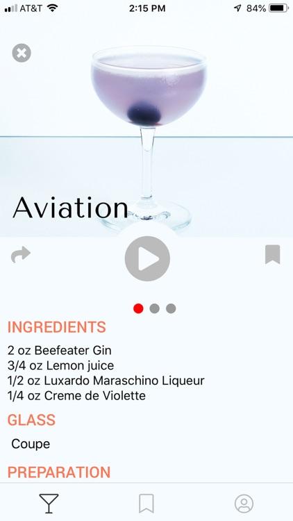 Spec: Craft Cocktail Library screenshot-1