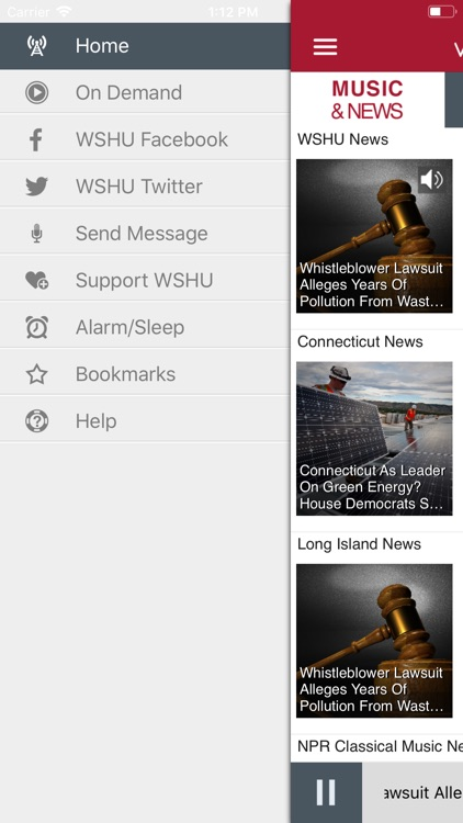 WSHU Public Radio App screenshot-3