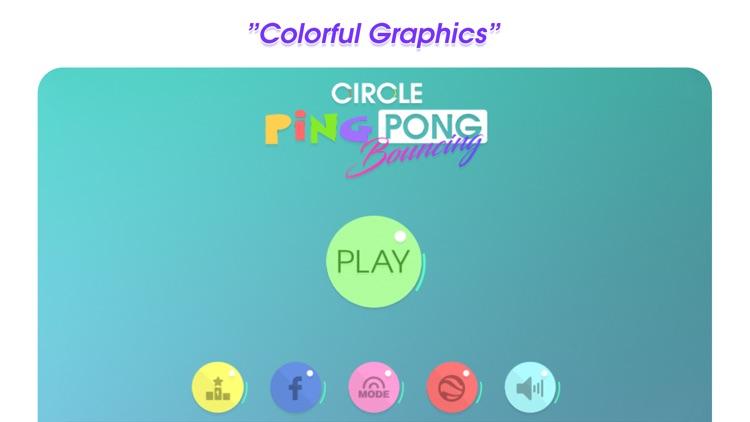 Circle Ping Pong Bouncing screenshot-3