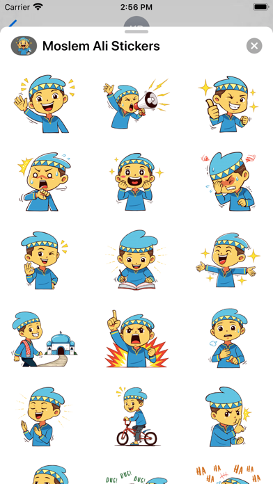 Moslem Ali Stickers screenshot 1