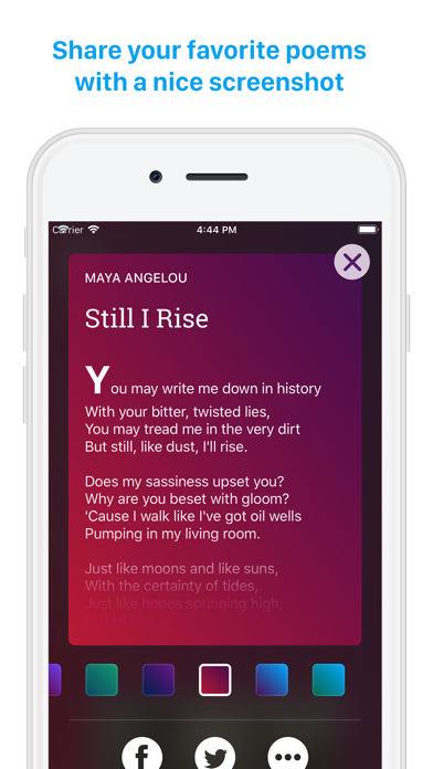Poemhunter: Best Poets and Poems for Poetry Lovers screenshot