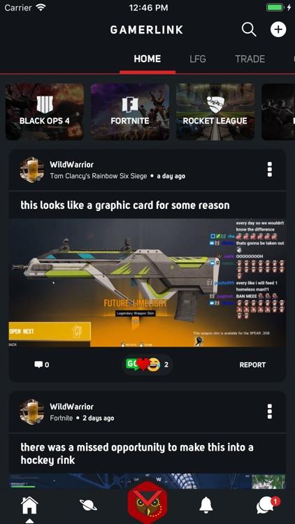 GamerLink - LFG & Clan Chat! screenshot-0