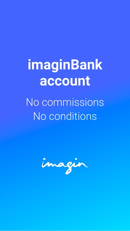 imaginBank - Your mobile bank screenshot-0