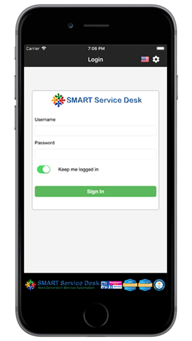 messages.download SMART Service Desk software