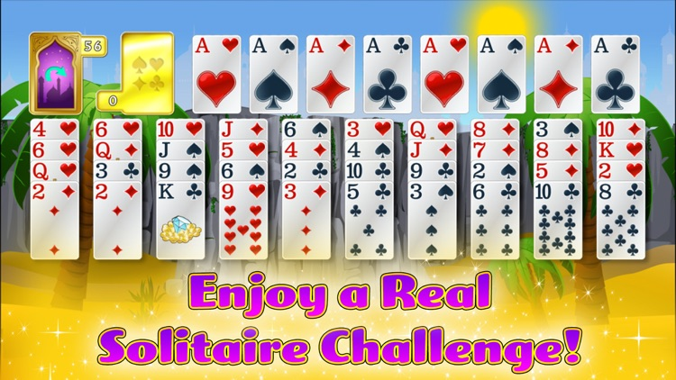 Forty Thieves Solitaire Gold screenshot-0