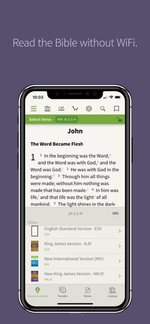 NIV Bible App + on the App Store