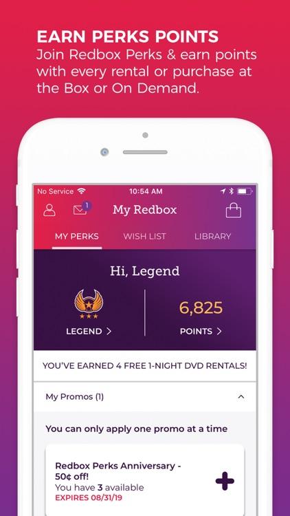 Redbox – Rent, Watch, Play screenshot-4