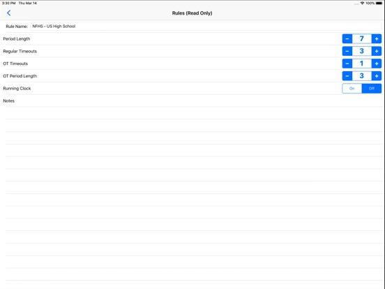 Water Polo Scorebook + Stats screenshot #3