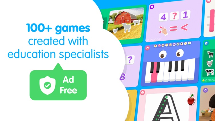 Kid Cube   Preschool Games
