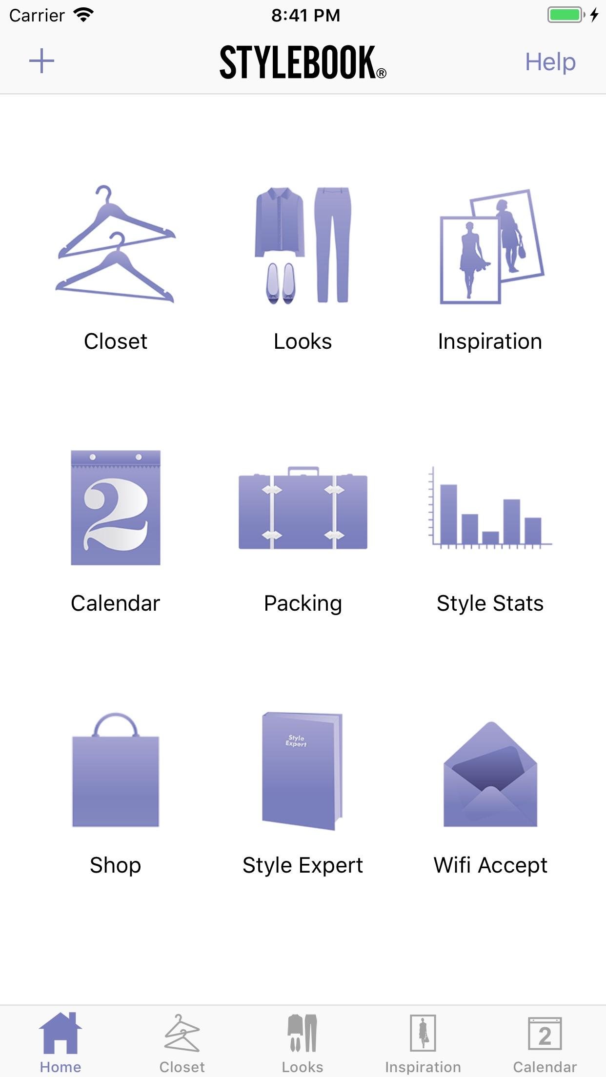 Stylebook Screenshot