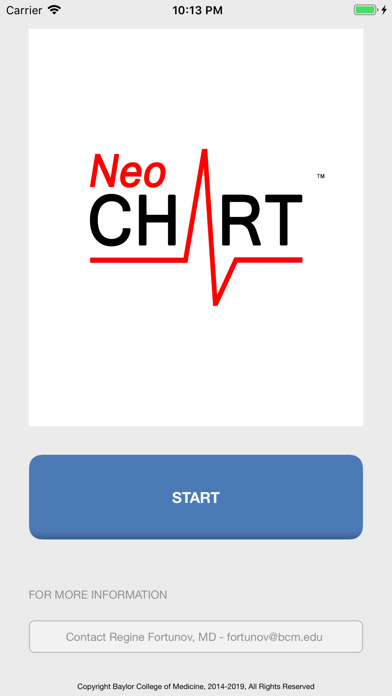 NeoCHART screenshot one