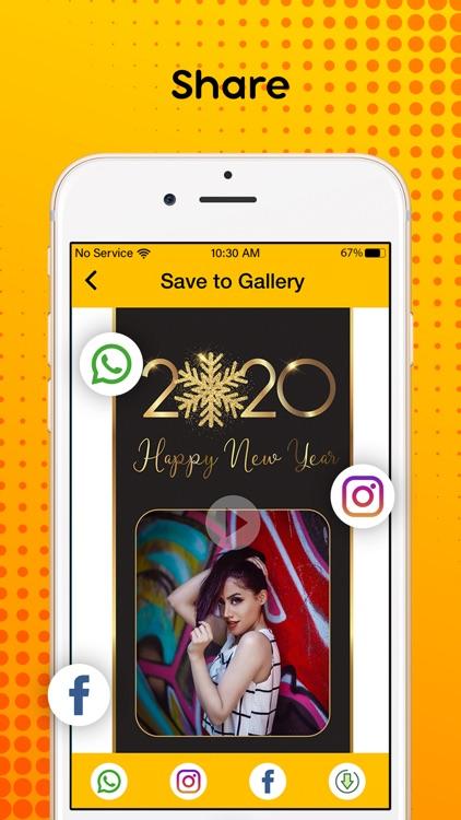 New Year 2020 : Video Maker screenshot-6