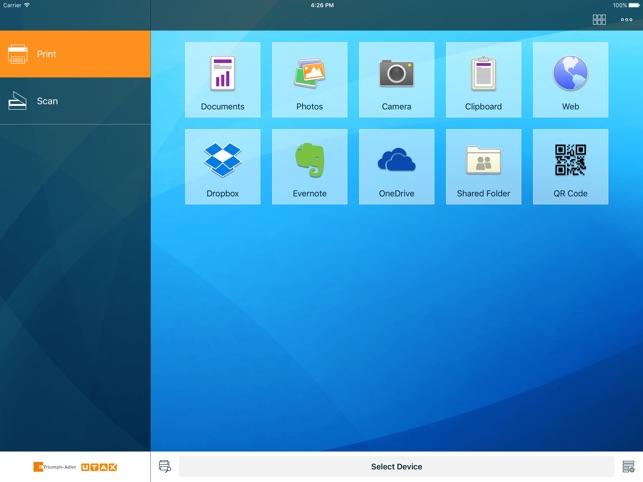 TA/UTAX Mobile Print on the App Store