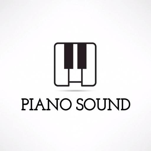 Piano sound icon