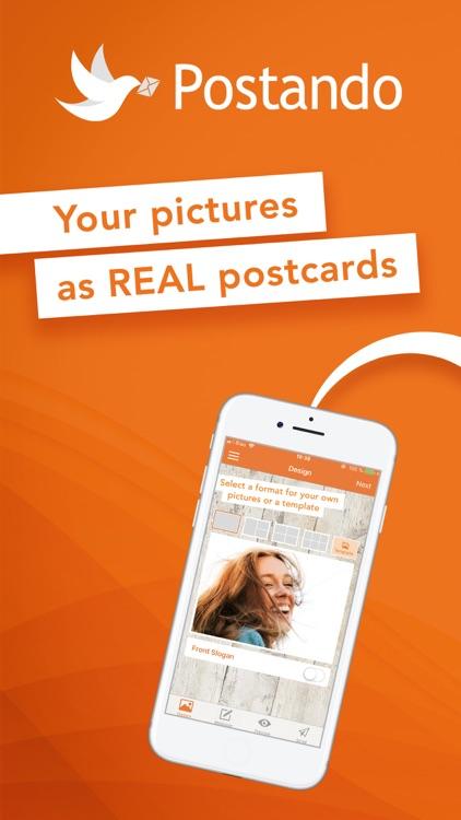 Postando Photo Postcard App