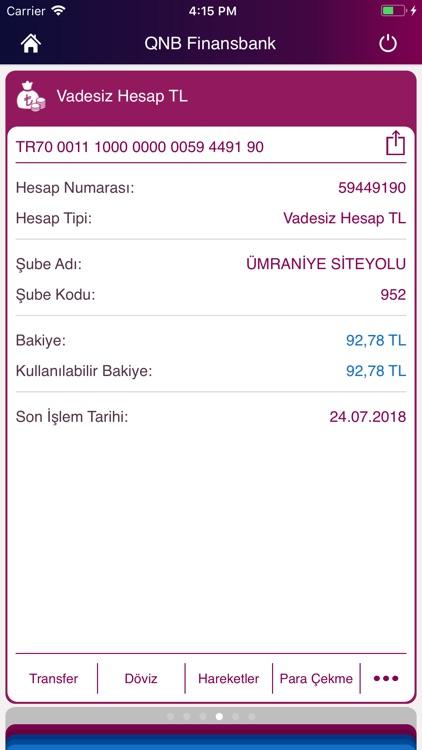 QNB Finansbank Cep Şubesi screenshot-3