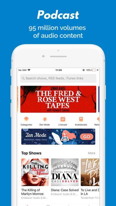 Castbox - Podcast Player Screenshot