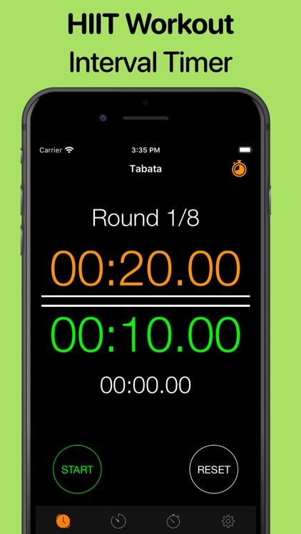 Workout Timer - HIIT Tabata screenshot-0
