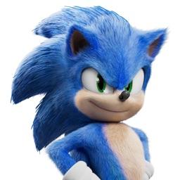 Figurinhas de Sonic O Filme