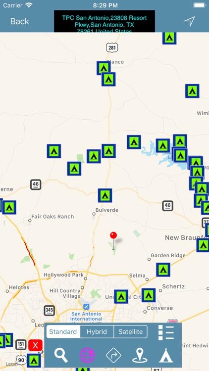 TEXAS: Campground & RV's Find screenshot-5