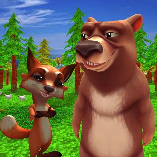 Virtual Animals Family Games iOS App
