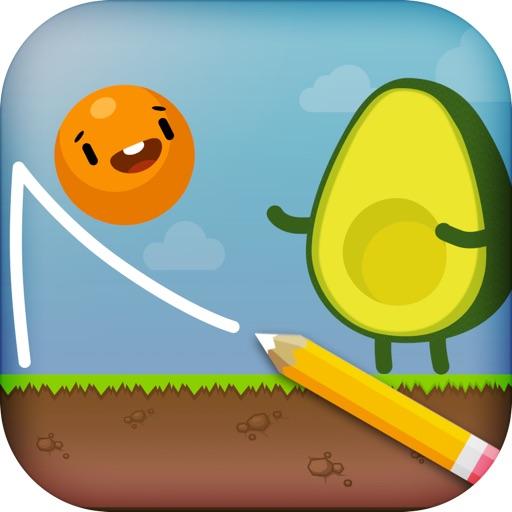 Where's My Avocado? Draw lines image