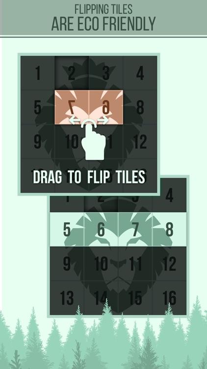 Flip Flop Forest Swipe Block