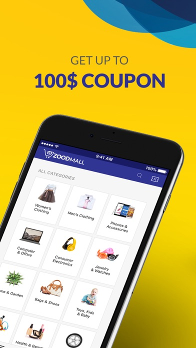 Screenshot for ZoodMall - Shopping & Deals in Lebanon App Store