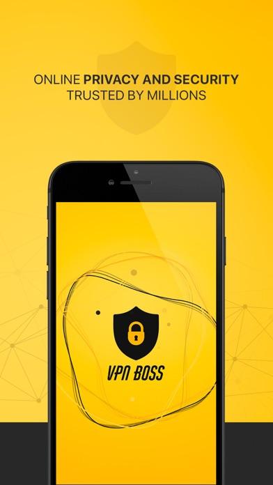 VPNBoss - Privacy & Security Screenshot
