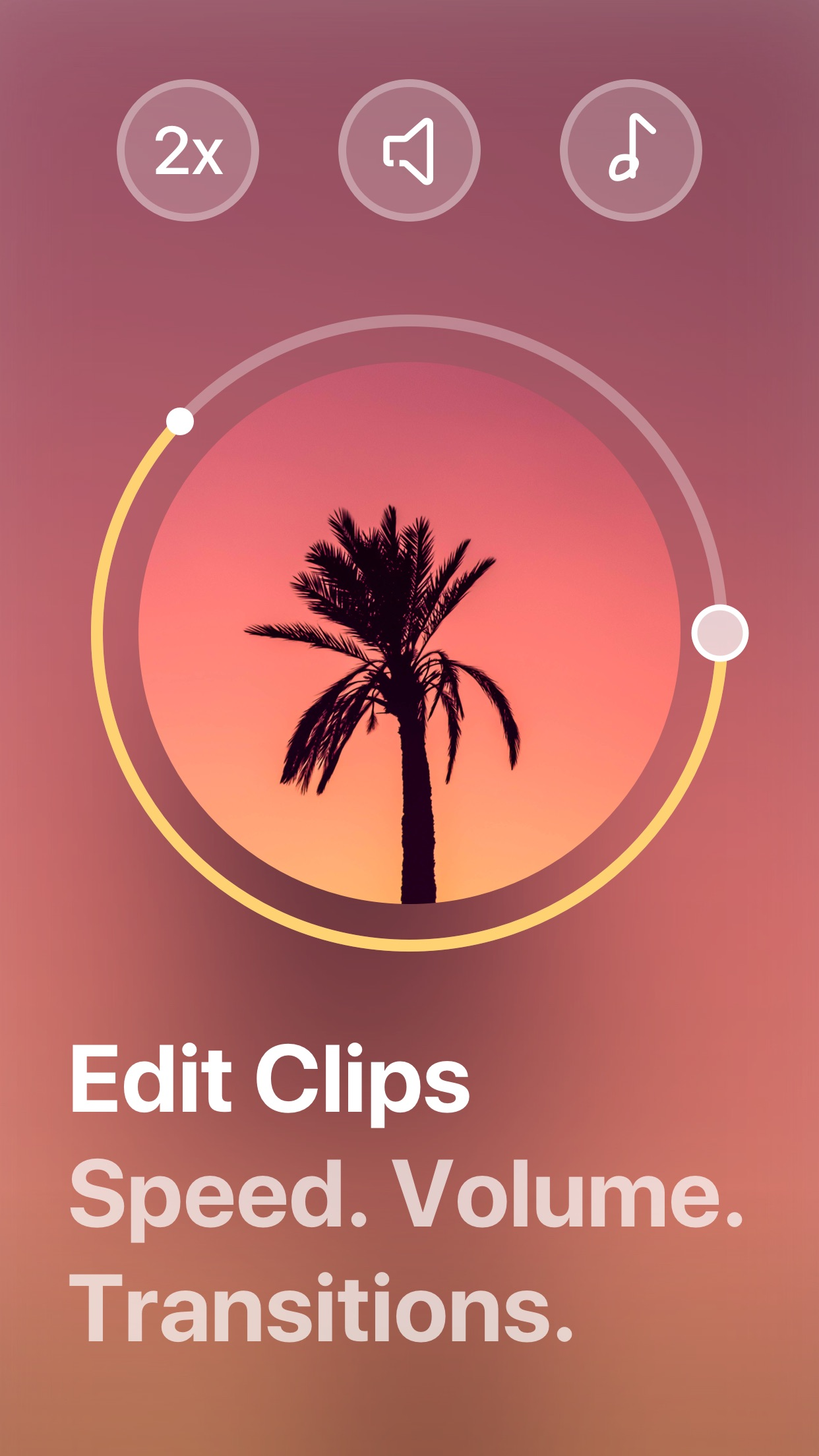Screenshot do app Spark Camera - Video Editor