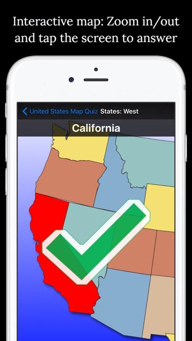 United States Map Quiz screenshot four