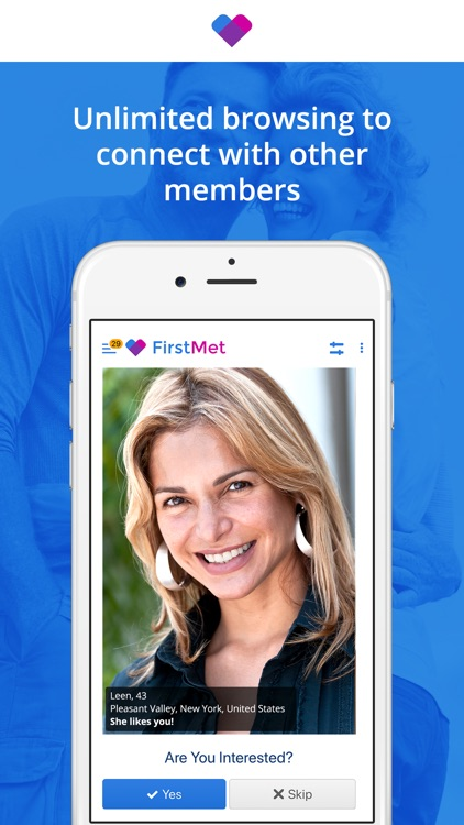 FirstMet Dating: Meet People
