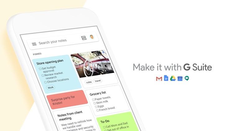 Google Keep - Notes and lists screenshot-4