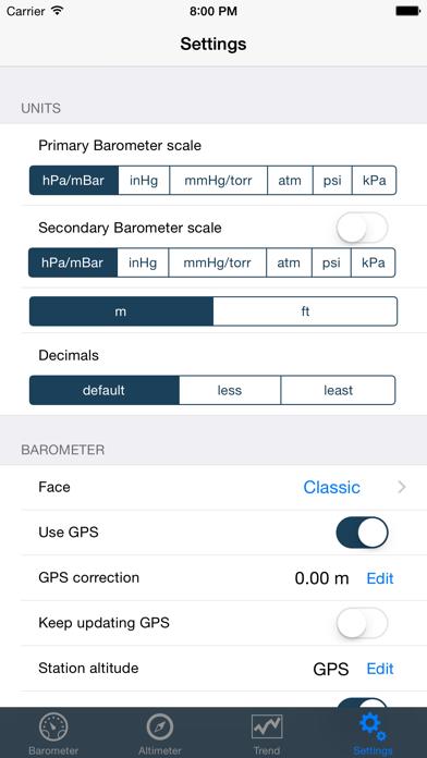 Barometer & Altimeter Pro Screenshot