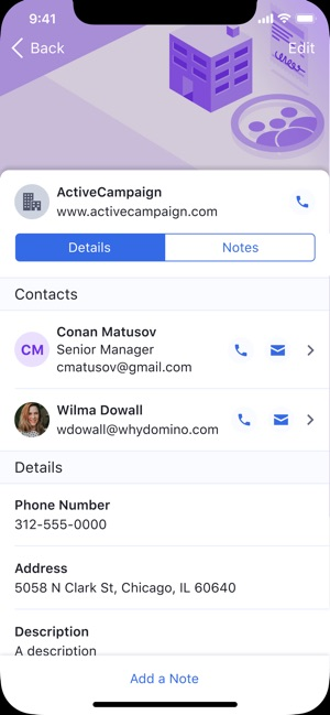 ActiveCampaign Deals CRM on the App Store