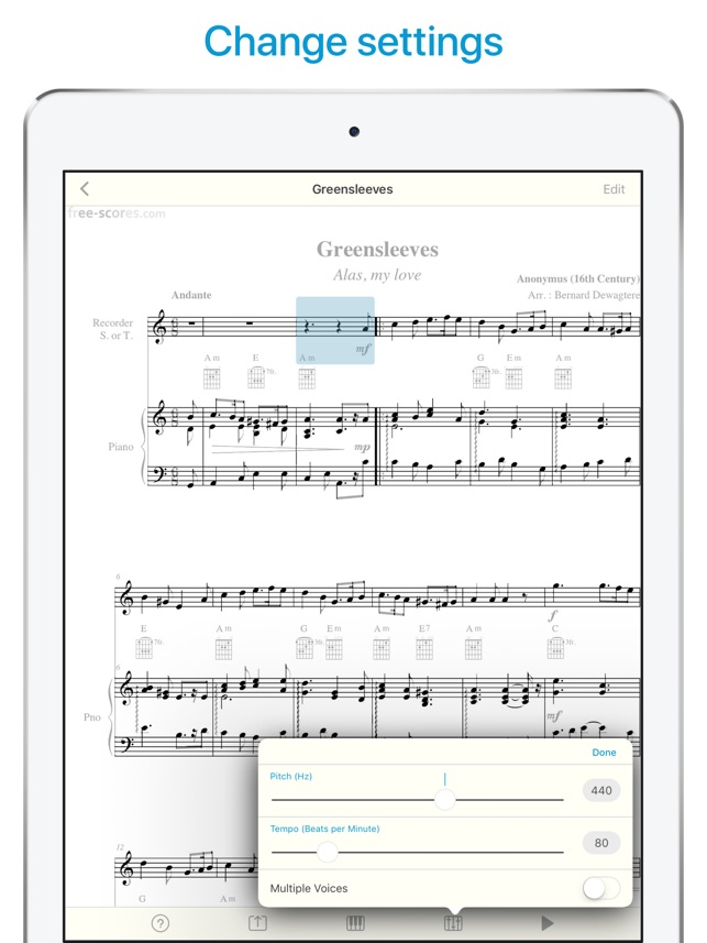 ‎Sheet Music Scanner