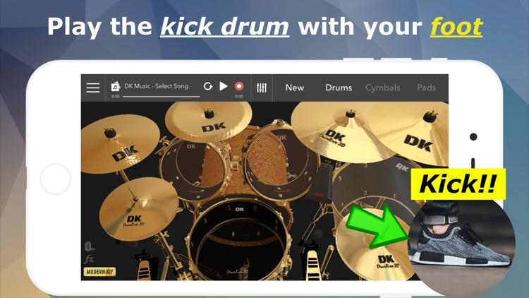 DrumKnee Drums 3D - Drum pad screenshot-0