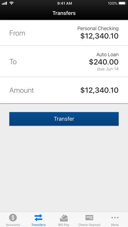 MHVFCU Mobile Banking screenshot-3