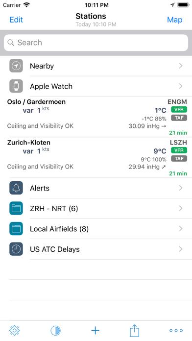 AeroWeather Pro Screenshot