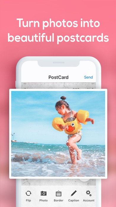 Postcard App by SnapShot screenshot two