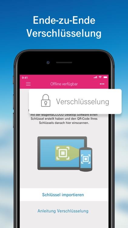MagentaCLOUD - Cloud Speicher screenshot-7